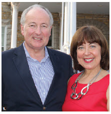 Foreign Minister Rob Nicholson and his wife, Arlene, attended a 4th of July party hosted by Ambassador Bruce Heyman and his wife, Vicki. (Photo: Ulle Baum)