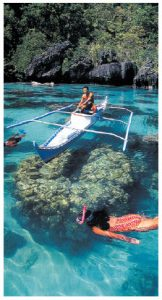 Many water adventures await in El Nido, Palawan. (Tata Puzon Mayo)