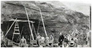 Mining operations in the Klondike in 1899. (Photo: John McLain)