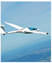 The ultralight Pipistrel aircraft is made in Slovenia.