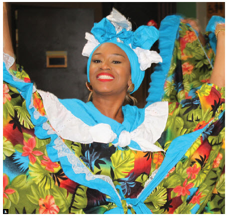 The High Commission of Trinidad and Tobago and the Trinidad and Tobago Association of Ottawa hosted a cultural show, featuring dancer Cammie Smith from the Mason Hall Village Council Folk Performers of Tobago. (Photo: Ülle Baum)