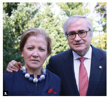 On the occasion of their national day, Spanish Ambassador Carlos Gomez-Mugica and his wife, Maria de la Rica Aranguren, hosted a reception at the embassy. (Photo: Ülle Baum)