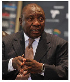 Deputy President Cyril Ramaphosa is capable of restoring a Mandela-like legitimacy within the ANC and South Africa. (Photo: The presidency of republic of South Africa)