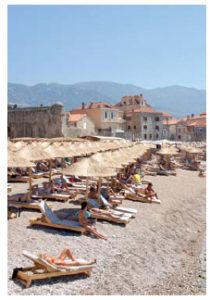 The beaches around Budva, such as the Queen of Montenegro, draw much attention. (Photo: © Moreno Novello   Dreamstime.com)