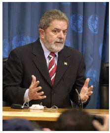 Former Brazilian president Luiz Inacio Lula da Silva built strongly on the Africa relationship. (Photo: UN PHOTO)