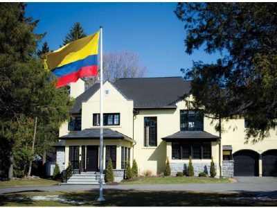 Colombia's stunning Rockcliffe renovation project