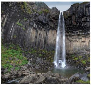 The waterfall Svartifoss (also known as Black Waterfall) in southeast Iceland. (Photo: Ragnar Th. Sigurdsson)