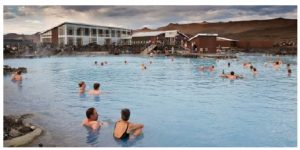 The spa at Myvatn in northern Iceland. (Photo: Ragnar Th. Sigurdsson)