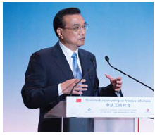 Premier Li Keqiang has promised to protect domestic intellectual property rights for all Chinese patent holders. (Photo: Pablo Tupin-Noriega)