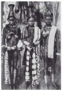 The Igbos' unsuccessful claim for independence ended in January 1970 and marked a watershed in international affairs. This photo shows Igbo women in the early 1900s. (Photo:  courtesy of G. T. Basden)