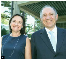 Italian Ambassador Gian Lorenzo Cornado and his wife, Martine Laiden, hosted a garden party at his residence in support of the Friends of the National Arts Centre Orchestra. (Photo: Lois Siegel)