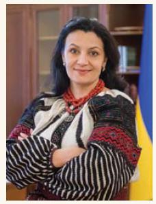 Ivanna Klympush-Tsintsadze (Photo: Government of ukraine)