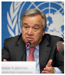 The job of reinvigorating the UN falls squarely on the shoulders of new Secretary General Antonio Guterres. (Photo: UN Photo)