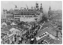 Shanghai's Nanking Road (1912-1945) (Photo:wiki)