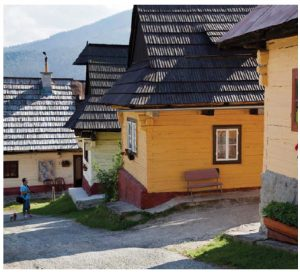 Vlkolínec has been listed as a UNESCO World Heritage site since 1993. The village is a unique example of countryside architecture and the region's most complete group of traditional log houses,  which are often found in the mountainous areas. (Photo: Department of Tourism of the Ministry of Transport and Construction of the Slovak Republic)