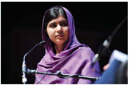 Malala Yousafzai was in Ottawa in April to receive honourary citizenship from the government of Canada. She also spoke in parliament and had a private meeting with Prime Minister Justin Trudeau. (Photo: Jana Chytilova)