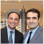 Turkish Ambassador Selcuk Unal, right, attended the grand opening of 1451 Wellington in Ottawa. He's shown with Toronto-based developer Sam Mizrahi. (Photo: Ülle Baum)