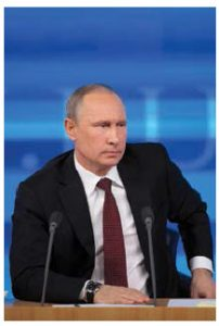 Observers speculate on how far Russian President Vladimir Putin will go to pursue his objectives, which some describe as a wish to project Russian power throughout Eurasia and the Middle East.  (Photo: © Igor Dolgov   Dreamstime)