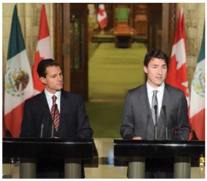 Though NAFTA has been in place since 1994, there's st Enrique Peña Nieto ill a lot of untapped potential for when it comes to trade with Mexico — as Prime Minister Justin Trudeau and Mexican President Enrique Peña Nieto have discussed. (Photo: Presidencia de la República Mexicana)