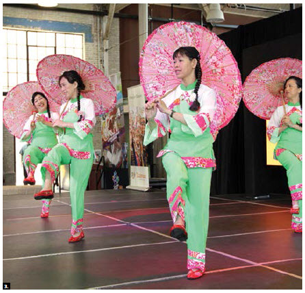 The Taipei Economic and Cultural Office held a Taiwan culture day at the Horticultural building at Lansdowne Park as part of Canada Welcomes the World for Canada 150. These performers took part. (Photo: Sam Garcia)