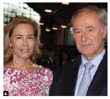 Spanish Ambassador Enrique Ruiz Molero and his wife, Leticia Herberg Carrera, hosted a national day celebration at Lansdowne Park's Horticulture Building. (Photo: Ülle Baum)