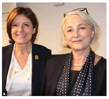 Malu Dreyer, president of Germany's Bundesrat and minister president of the state of Rhineland-Palatinate, held a press conference at Impact Hub Ottawa. Shown are Dreyer, left, and German Ambassador Sabine Sparwasser. (Photo: Ülle Baum)