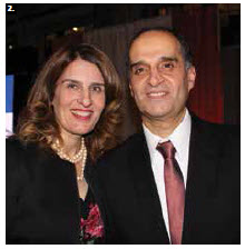 Lebanese chargé d'affaires Sami Haddad and his wife, Nadia, hosted a national day reception at Lansdowne Park's Horticulture Building. (Photo: Ülle Baum)