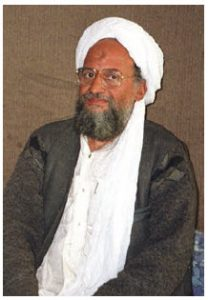 Ayman Mohammed Rabie al-Zawahiri is the current leader of al-Qaeda. (Photo: Hamid Mir)