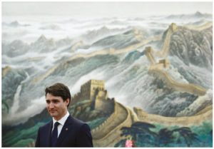 Prime Minister Justin Trudeau visited China in December, but appeared to make no progress on the goal of launching trade negotiations with the world's second-largest economy. (Photo: Prime minister's office)