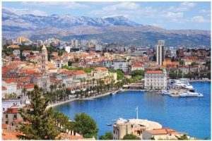 Split, the second-largest city in Croatia, definitely has it all, with Bacvice Beach on the Adriatic, UNESCO World Heritage sites and ravine-rich coastlines. (Photo: © Tupungato | Dreamstime.com)