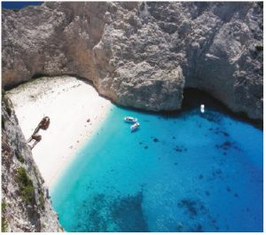 Greece's Zakynthos is the country's 10th-largest island and offers quintessential Mediterranean vacation opportunities including breathtaking views of the Ionian Sea. (Photo: © Anxela | Dreamstime.com)