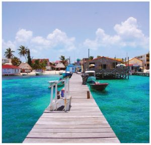"Ambergris Caye in Belize is the ""undisputed superstar"" of Belize's tourism industry, according to the Lonely Planet travel guide.  (Photo: AREED145 / © Dmitry Chulov)"