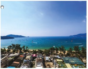 The nightlife around Patong Beach, Thailand, can be brash and boisterous, but the beaches can't be beat and several operators offer tours into the nearby mountains on the backs of elephants. (Photo:  © Dmitrii Fadeev | Dreamstime.com)