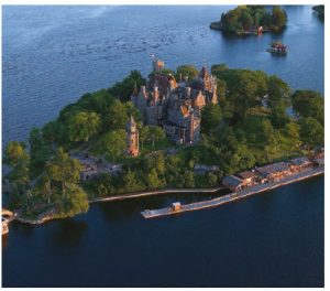Boldt Castle on the Thousand Islands was built by U.S. millionaire George C. Boldt for his wife, Louise. When she died suddenly in her early 40s, he abandoned the project and never returned. (Photo: Courtesy of Boldt Castle)