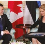 Estonian Prime Minister Jüri Ratas came to Canada on a working visit. He met with Gov. Gen. Julie Payette, shown here, and Prime Minister Justin Trudeau. (Photo: Ülle Baum)