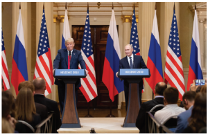 U.S. President Donald Trump talks about welcoming Russian President Vladimir Putin back into the G8 fold while slapping tariffs on some of the U.S.'s key allies and trading partners.  (Photo: White house)