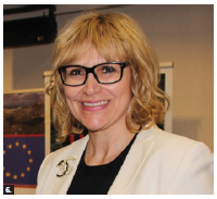 "A seminar titled ""Europe in Perspective"" and organized by the embassies of Bulgaria, Austria and Global Affairs Canada, took place at Global Affairs Canada. Bulgarian Ambassador Svetlana Stoycheva-Etropolski gave a speech. (Photo: Ülle Baum)"