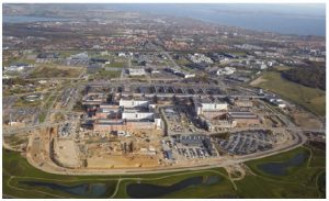 Import of goods from Denmark's health sector accounted for $374 million in 2016. Shown here is the New University Hospital in Aarhus, which will be completed in 2019. (Photo: Aarhus Universitetshospital)