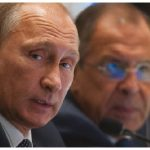 Russian President Vladimir Putin, shown here with his foreign minister, Sergey Lavrov, has sown deep dissension in the American body politic, writes columnist Fen Hampson. (Photo: Parley for the oceans)