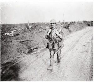 Tim Cook's new book, The Secret History of Soldiers: How Canadians Survived the Great War, details how soldiers such as Pte. Donald Johnston McKinnon, above, survived war's hell. (Photo: RiverBissonnette)