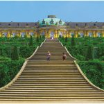 The palaces and parks of Potsdam, a UNESCO World Heritage Site, date back to 1745, when Frederick the Great commissioned Sanssouci Palace, above, to be built as his summer residence. (Photo: MBZT)