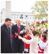 U.S. President Donald Trump and Chinese President Xi Jinping are said to be closer to a trade deal.  (Photo: White House)