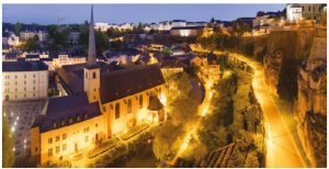 In the No. 2 spot, Luxembourg is a founding member of the European Union and the Eurozone and is considered Europe's version of Singapore.  (Photo: Benh LIEU SONG )
