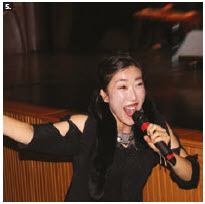 A traditional Korean cultural performance known as Jeong Ga Ak Hoe took place at Museum of History. Maengho Shin, main vocalist for the Jeong Ga Ak Hoe, sang at the event, hosted by the Korean Cultural Centre. (Photo: Ülle Baum)