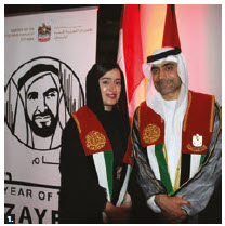 To mark UAE's national day, Ambassador Fahad Saeed M. A. Al-Raqbani hosted a reception at the Museum of History. (Photo: Ülle Baum)