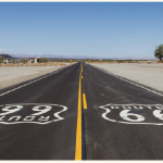 Route 66, the historic highway, ran 3,939 kilometres, but was replaced by the I-40 in 1985, yet one can still travel on segments of it. (Photo: Dietmar Rabich)