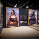 The paintings shown in the new da Vinci exhibit at the Canadian Museum of Science and Technology are reproductions, but they leave no doubt about da Vinci's mastery of the medium. The exhibit analyzes his most famous painting, the Mona Lisa, like never before. (Photo: photos Courtesy of the galleries)