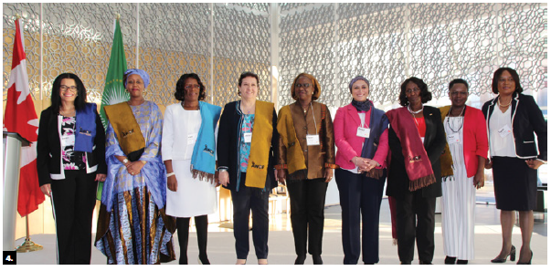 These diplomats participated in a seminar on African and Canadian women in science, technology, engineering and mathematics, organized by the African Women Diplomatic Forum. (Photo: Ülle Baum)