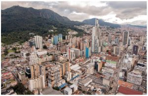 Colombia, whose capital of Bogota is shown here, has had a free trade agreement with Canada since 2008 and last year, it sent $865 million worth of exports to Canada.
