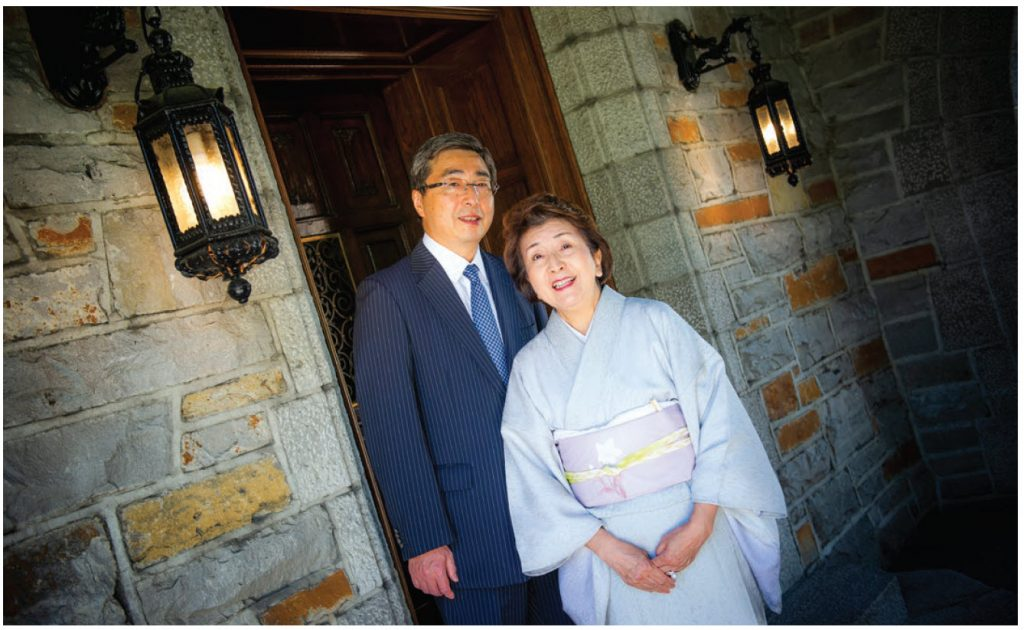 Japanese Ambassador Kimihiro Ishikane and his wife, Kaoru, are comfortable in their residence in the heart of Rockcliffe Village. (Photo: Ashley Fraser)